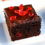 Chocolate Cherry Cake how to make Chocolate Cherry Cake recipe