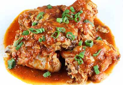 Spicy Tomato Chicken