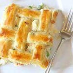 Turkey pot pie with puff pastry recipe