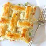 Turkey pot pie with puff pastry recipe