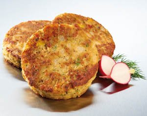 Vegetarian Patties recipe