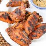 Ancho Peach Chicken Wings recipe in oven