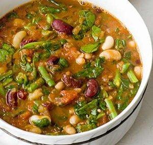 Aubergine and Bean Curry Recipe