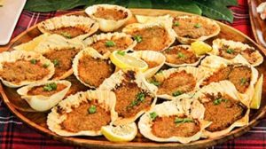 Baked Clams With Black Bean Sauce Recipe