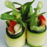 Basil Plum Nori sushi Roll recipe (Umejhiso Maki)