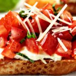 Bruschetta recipe step by step preparation at home