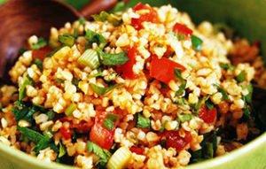 Bulgur Salad recipe step by step preparation