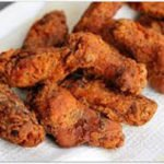 Cajun Buttermilk Chicken Wings recipe in oven