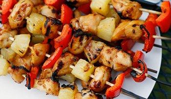 Chicken Shish Ka Bobs Recipe