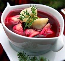 Christmas Eve Borscht recipe step by step