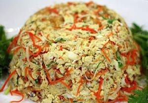 Crabmeat Recipe with scrambled eggs Recipe