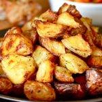 Crispy Potato Skin Wedges Recipe