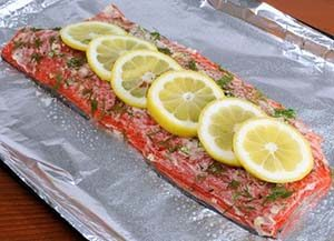 Dilled Salmon Recipe