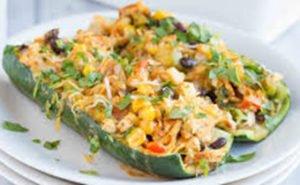 Enchilada Zucchini Boats Recipe