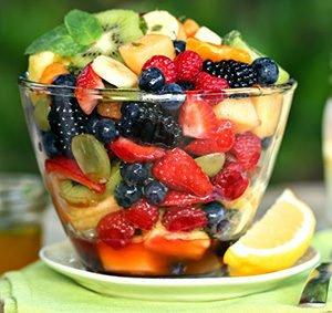 Fruit Ginger Tropical Salad Recipe