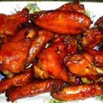 Mahogany Chicken wingettes recipe