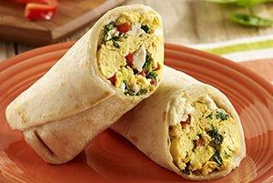 Mediterranean Breakfast Wrap