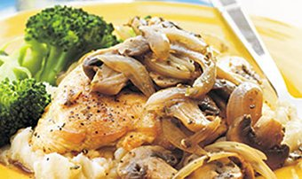 No peek skillet chicken recipe