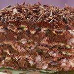 Passover Matzo Layer Cake recipe step by step