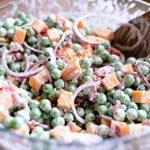 Pea Bacon Salad Salad Recipe