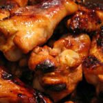 Pecan Sesame Chicken Wings