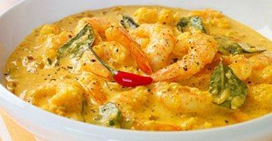 Prawn Malai Curry Recipe