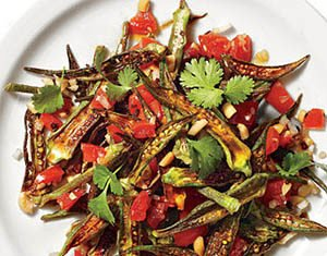 Spicy Okra recipe