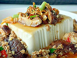 Steamed Tofu recipe step by step