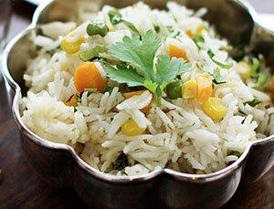 Vegetable Pilau Rice