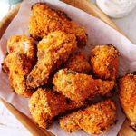 Buttermilk Baked Chicken Wings step by step