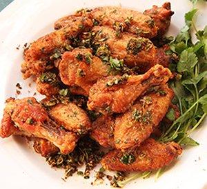 crispy chicken wings in oven