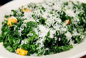 Hymans Raw Kale Salad Recipe
