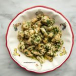 Cheesy parsley chicken recipe for dinner step by step
