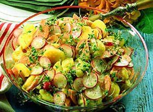 Barvarian Potato Salad Recipe