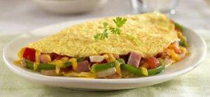 Ham Omelet Recipe