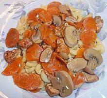 Mohren Mit Geschnetzeltern Recipe