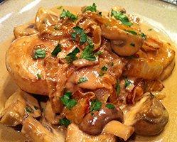 Mushrooms In Cream Sauce Recipe
