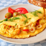 Onion Omelet Recipe
