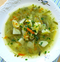Potato And Cucumber Soup Recipe