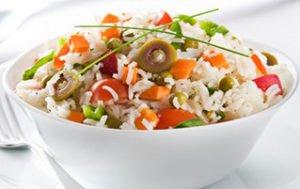 Rice Salad Recipe,How To Make Rice Salad Recipe