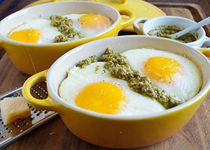 Shirred Eggs Recipe