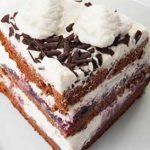 Cream Torte Recipe, How To Make Cream Torte