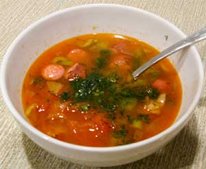 Mixed Meat Soup Recipe