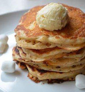 Oatmeal Bacon Pancakes Recipe