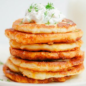 Potato Griddle Cakes Recipe, How To Make Potato Griddle Cakes