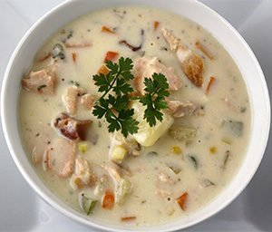 Salmon Soup Recipe, How To Make Salmon Soup