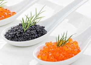 Three Caviars Recipe